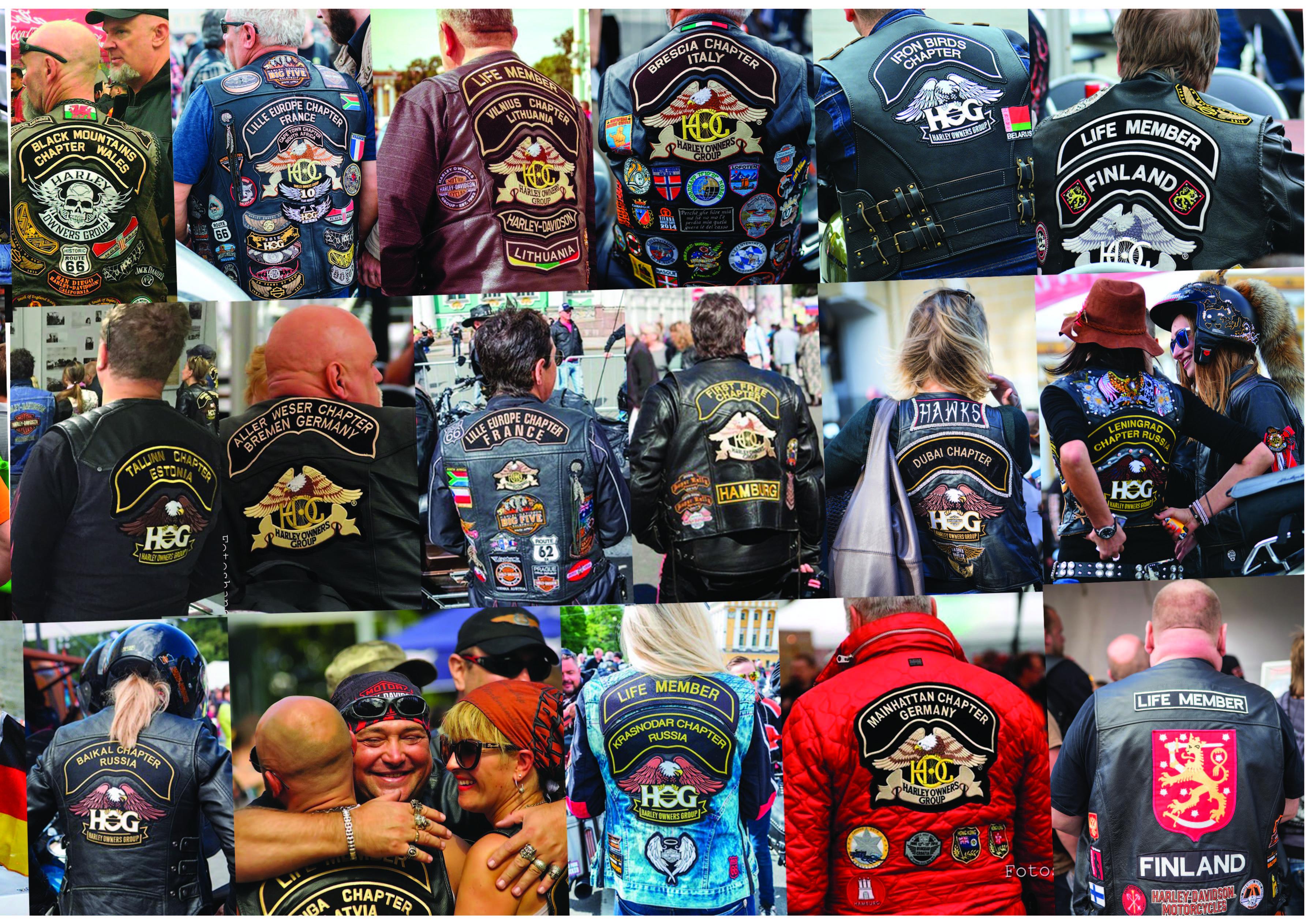 Громкий фестиваль: шум моторов на St.Petersburg Harley ® Days