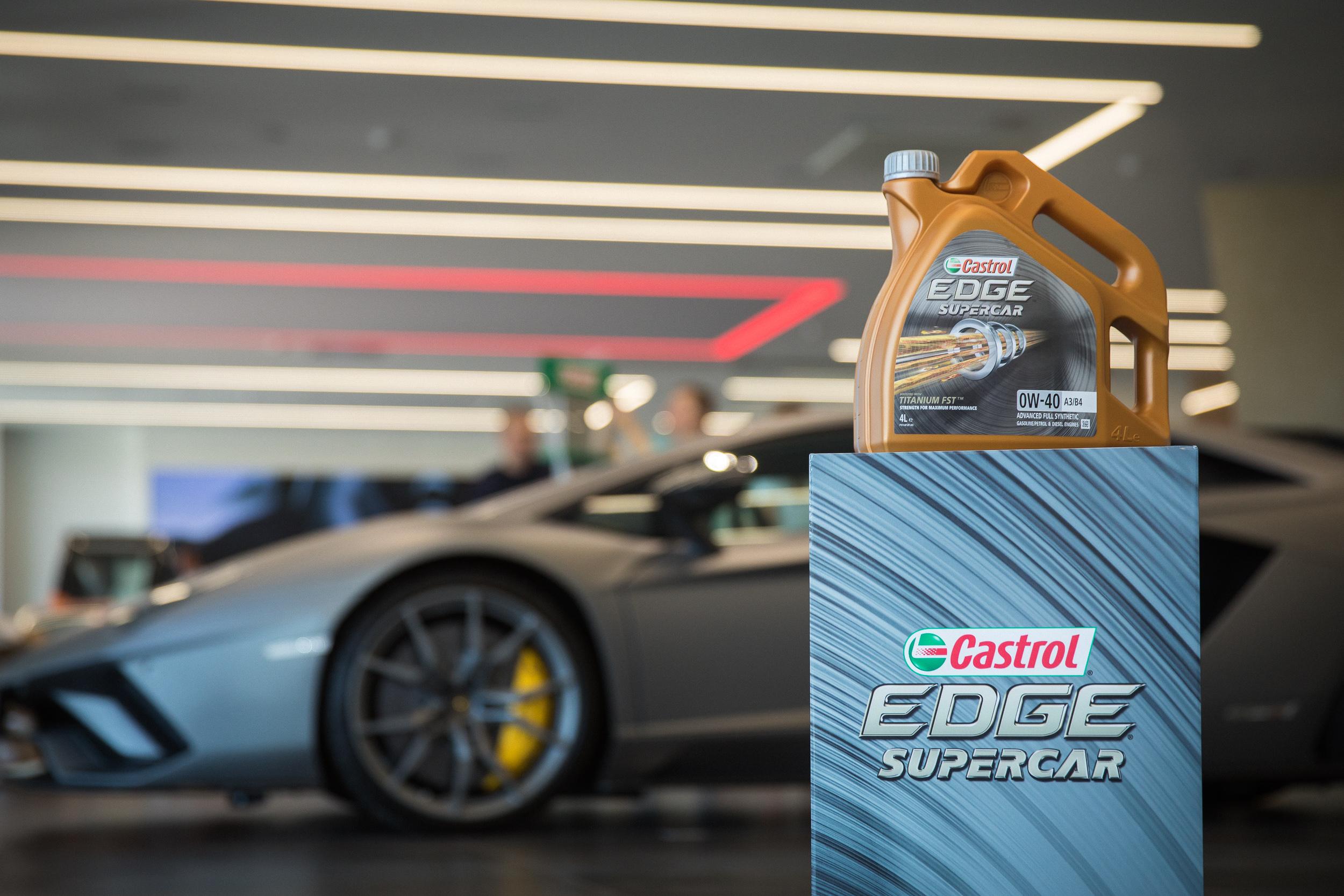Новая линейка моторных масел Castrol для суперкаров и компактных хэтчей