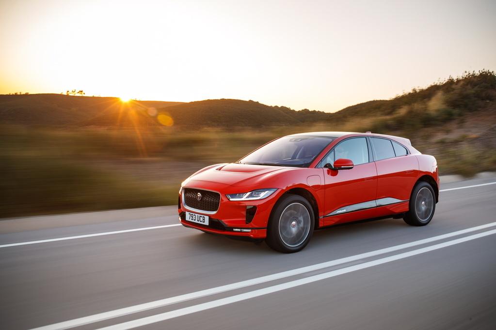 Jaguar I-Pace пришел в Россию