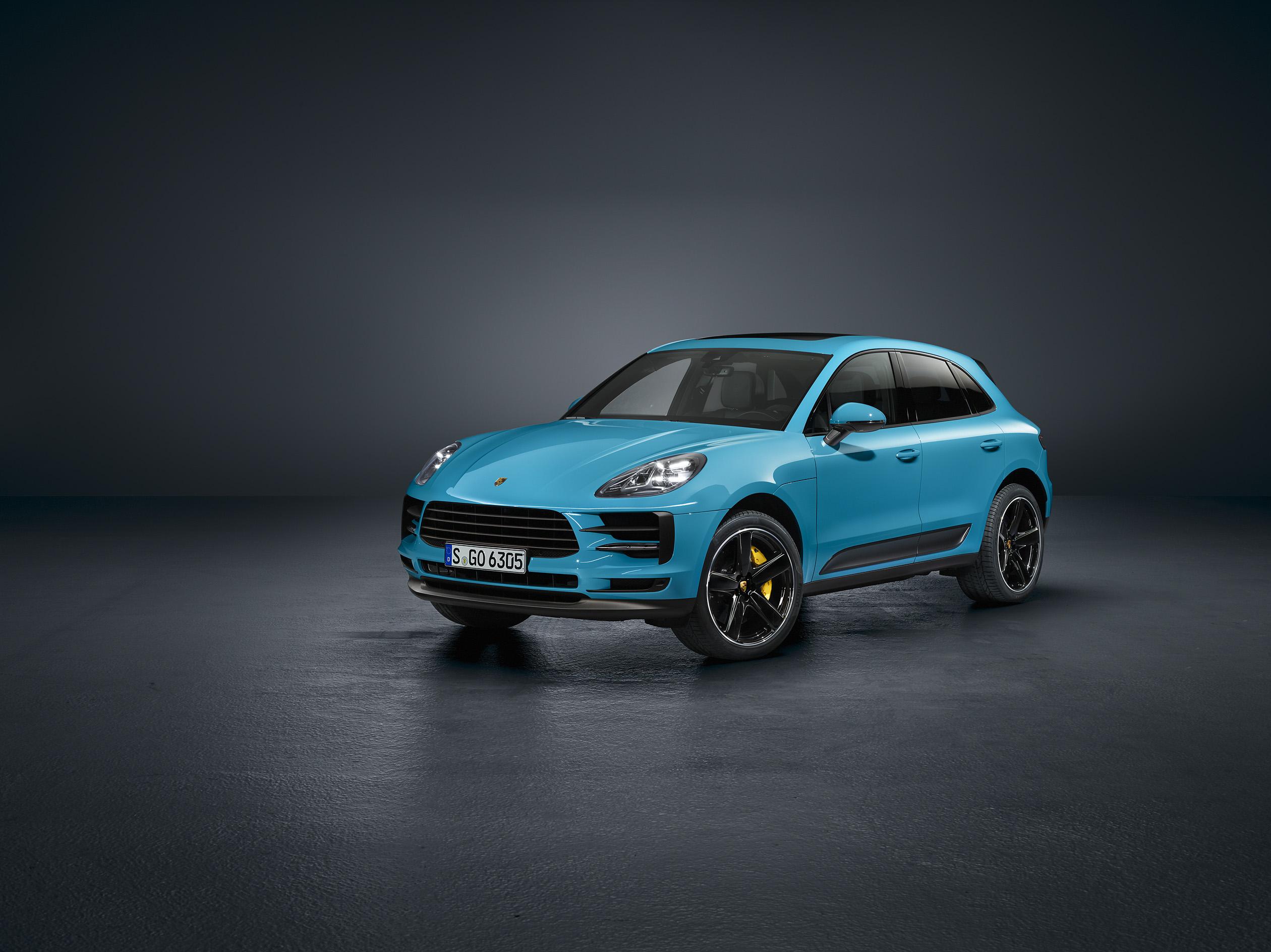 Porsche показали новый Macan в Шанхае