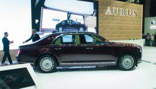 Объявлена цена на Aurus - 18 миллионов рублей