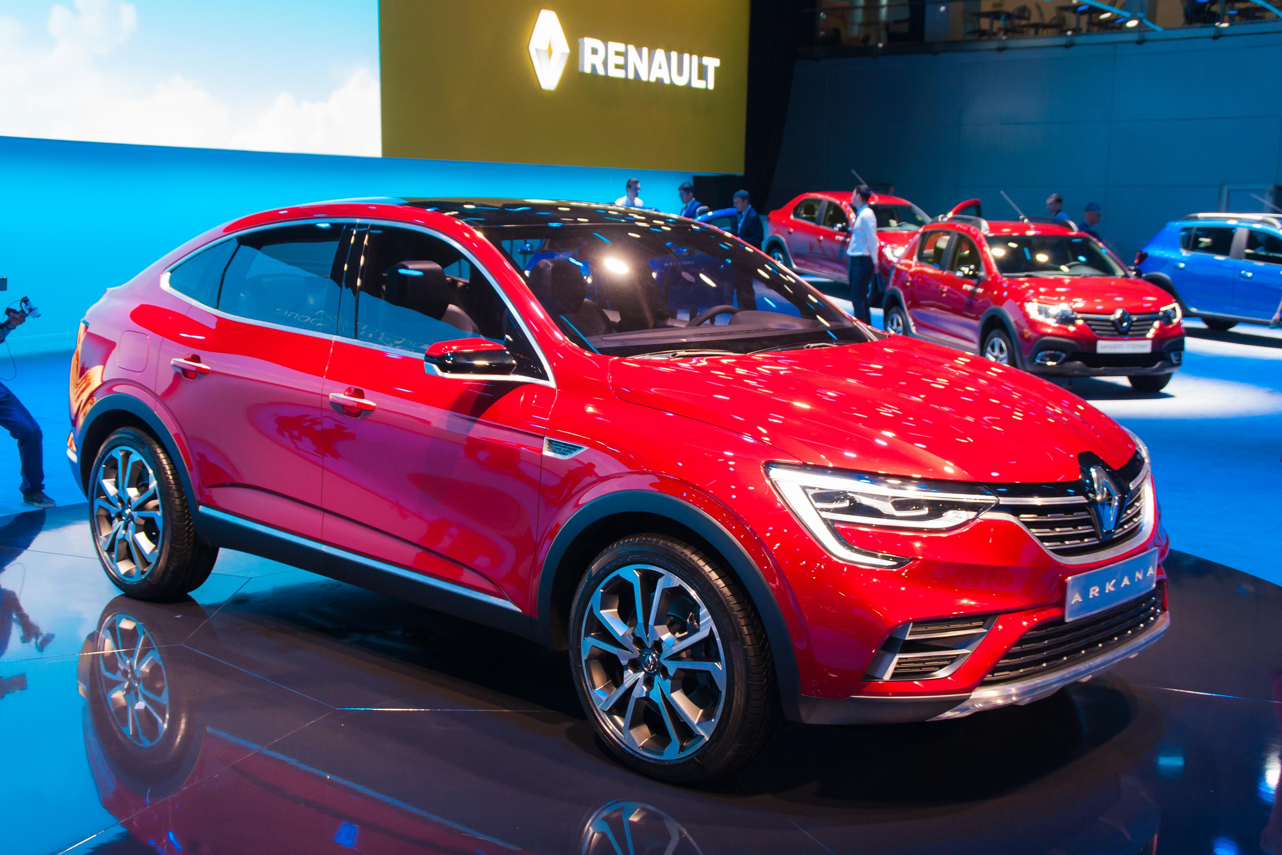 Renault запатентовала внешность Arkana