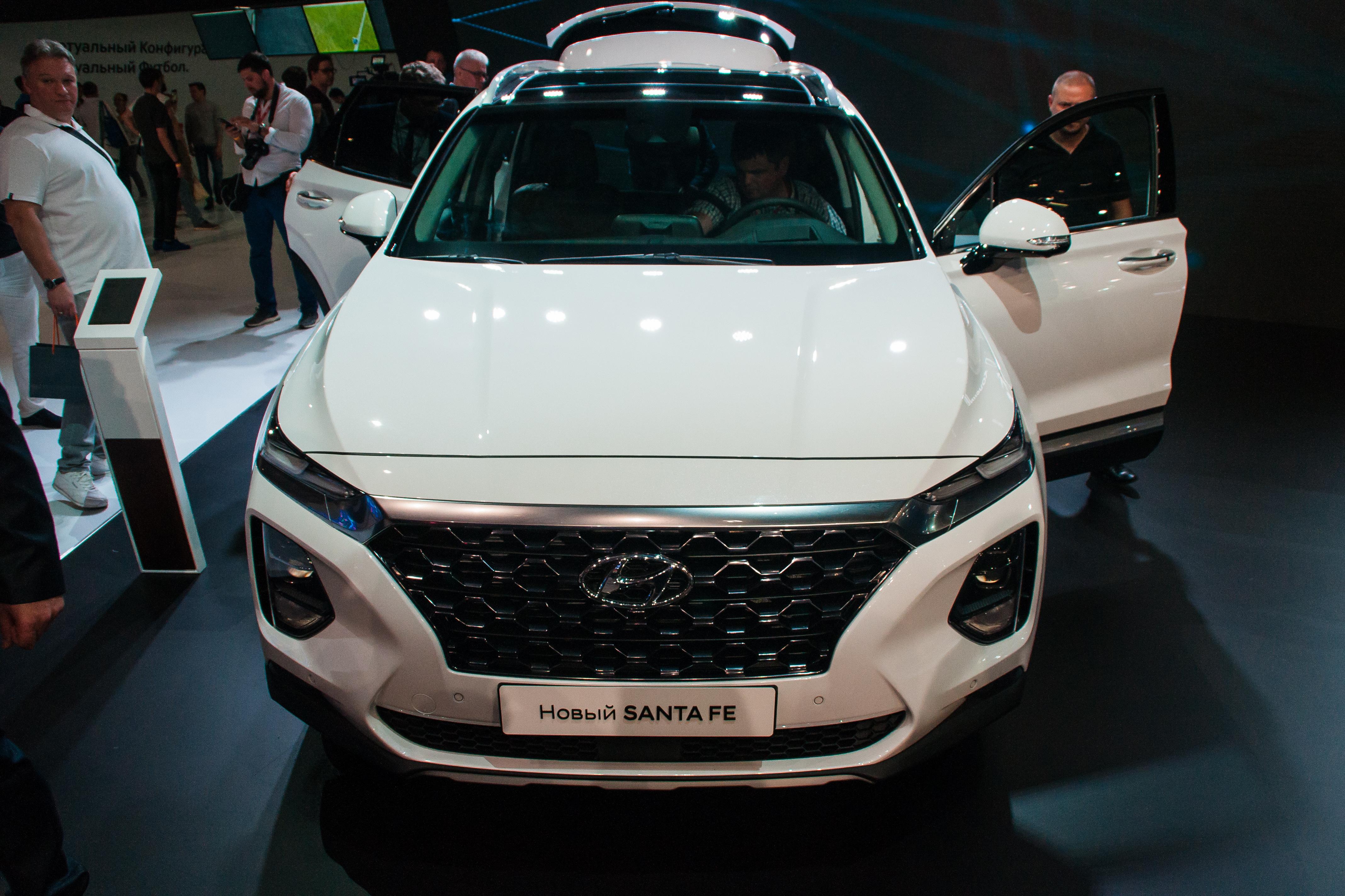 Hyundai встроит дактилосканер в Santa Fe