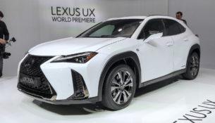 Lexus UX - новый компактный кроссовер будет продаваться в России