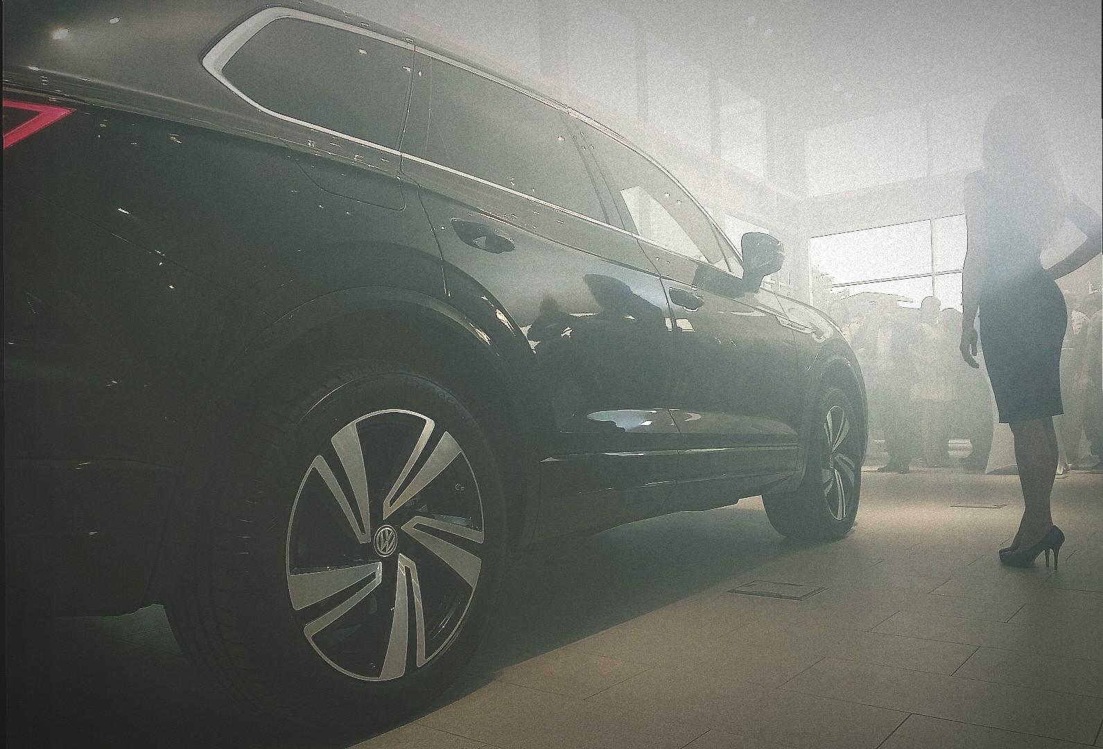 Новый VW Touareg презентован в Форсаж Озерки