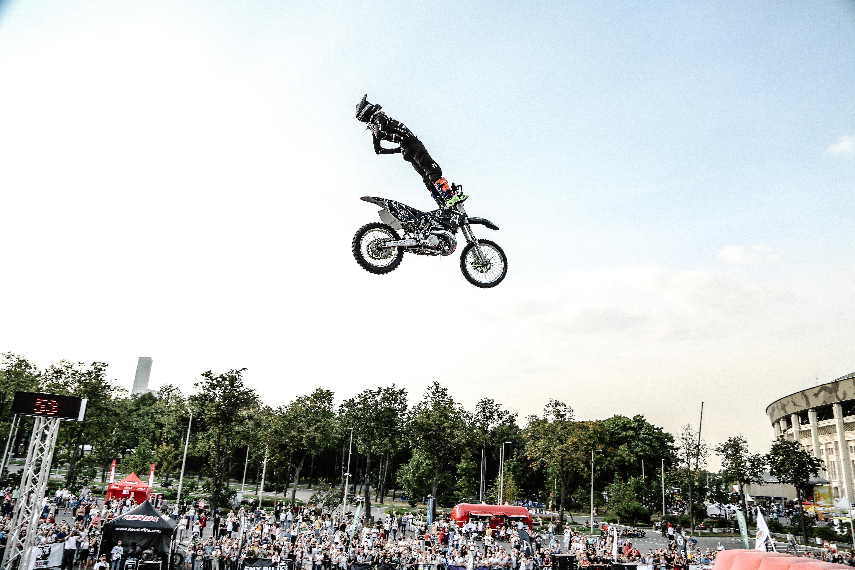 В Москве прошел Чемпионат России по мотофристайлу