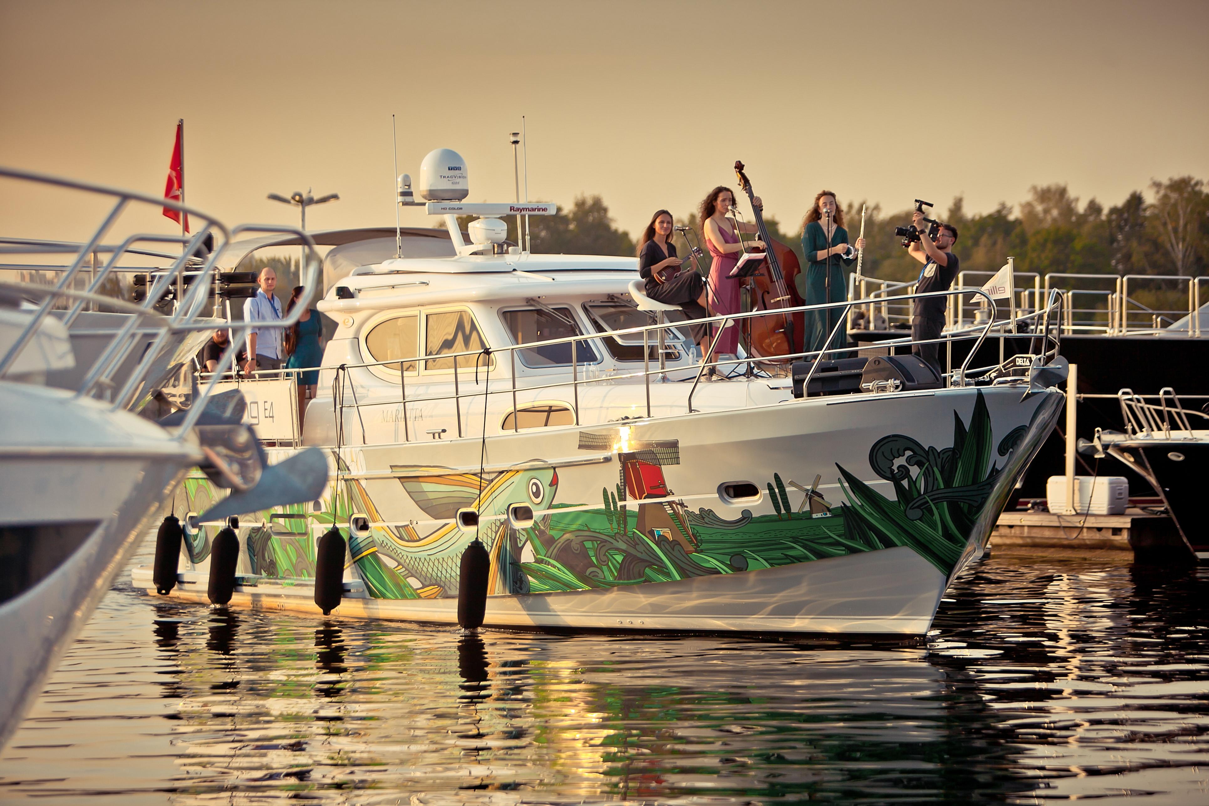 В Петербурге прошла международная выставка яхт