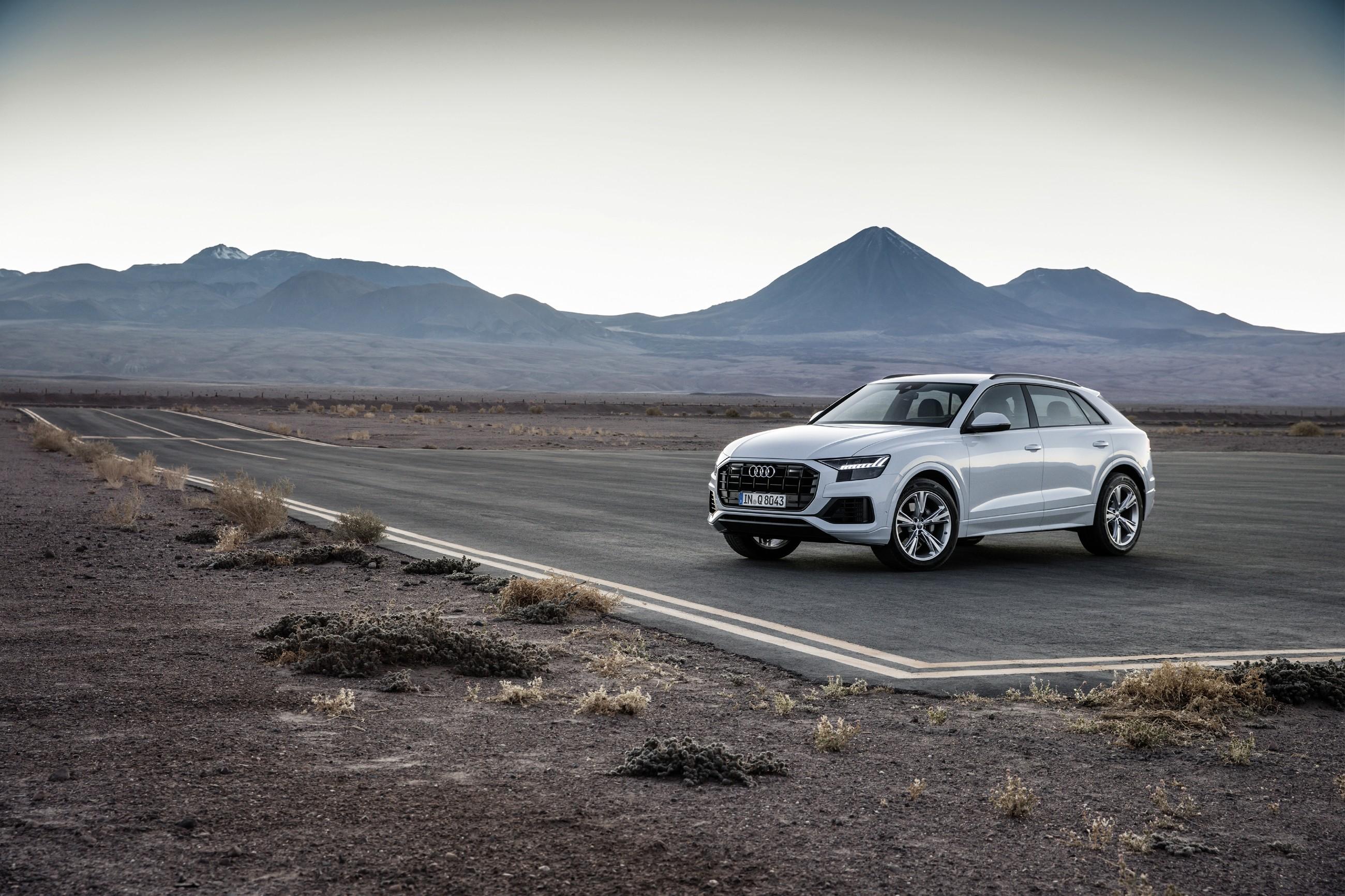 Audi A6 и Q8 едут в Россию