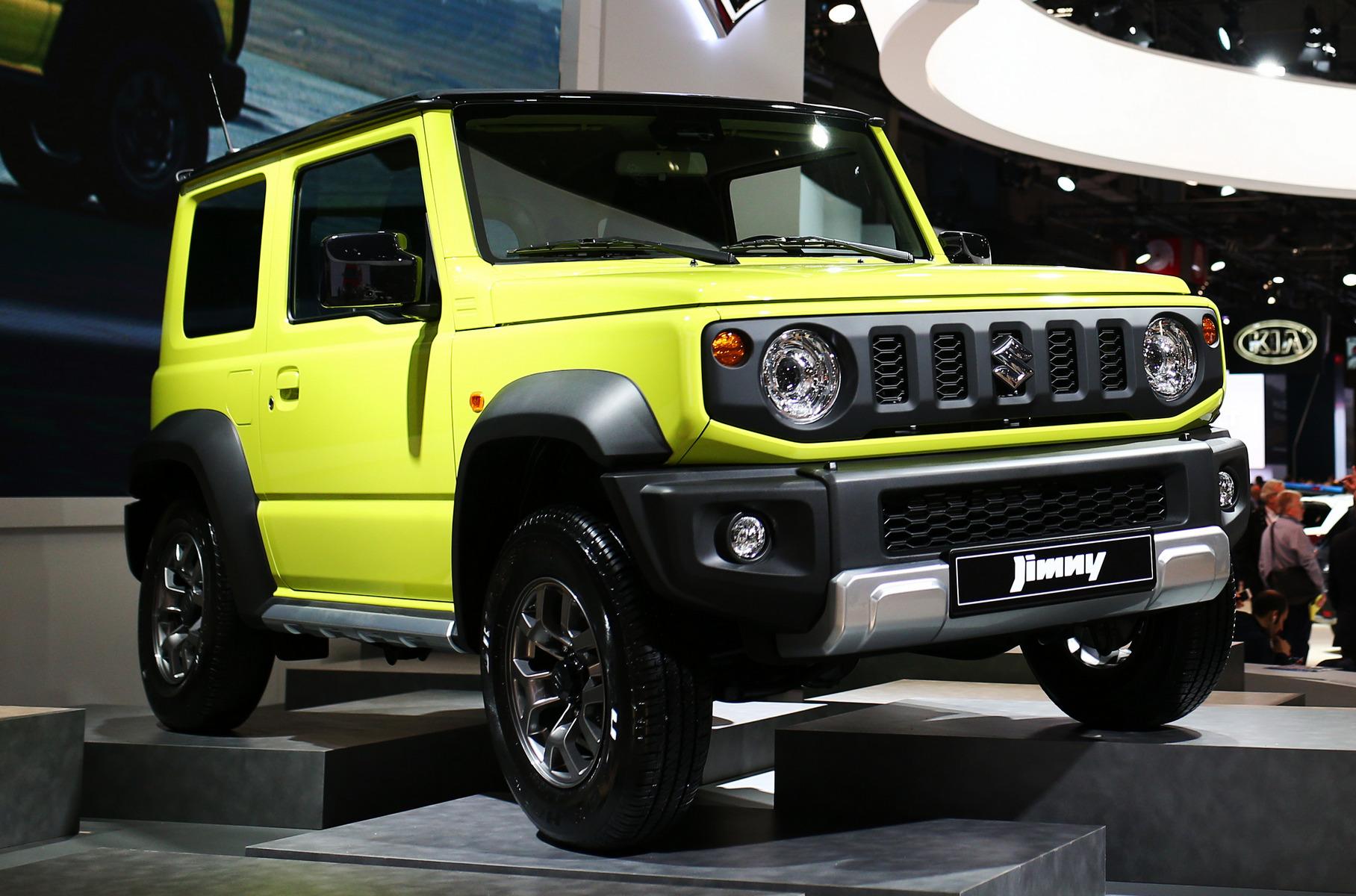 Suzuki показала европейцам новый Jimny