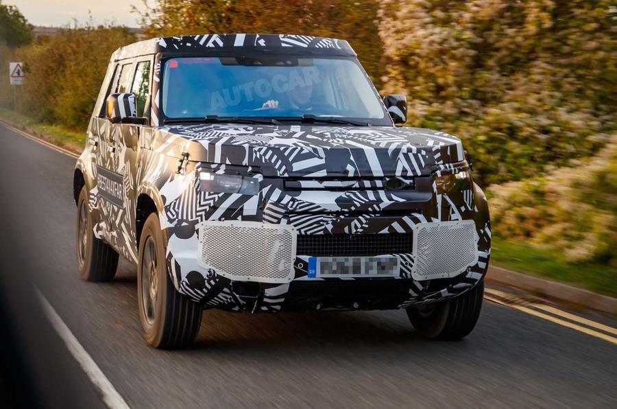 Новый Land Rover Defender: шпионские фото