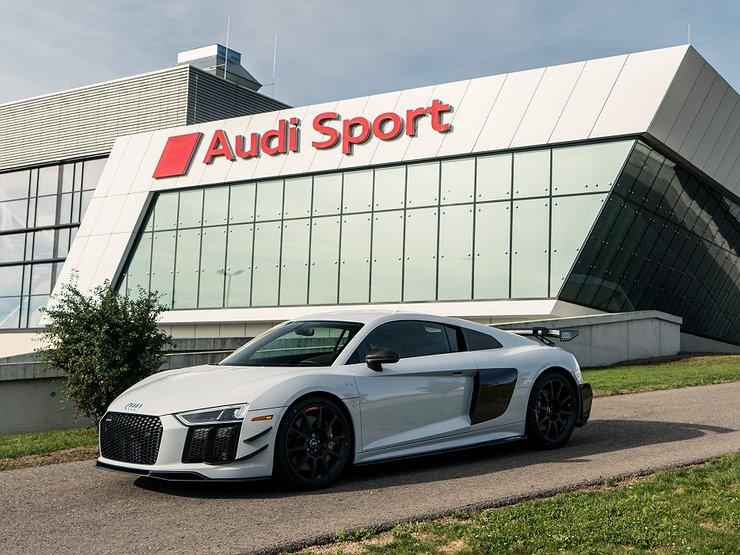 """Audi представила самый """"злой"""" R8"""