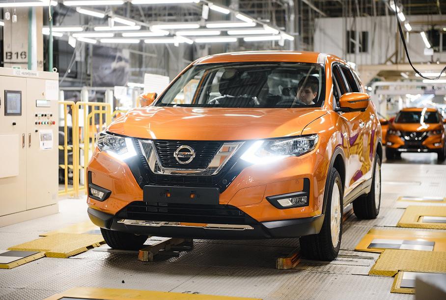 В России начали собирать обновленный Nissan X-Trail