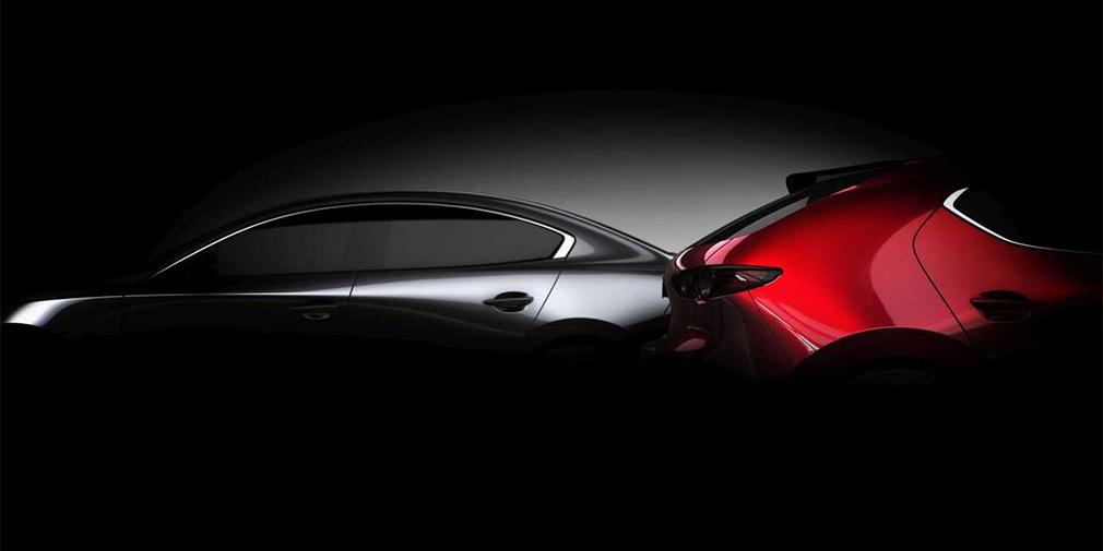 "Mazda объявила дату премьеры ""тройки"""