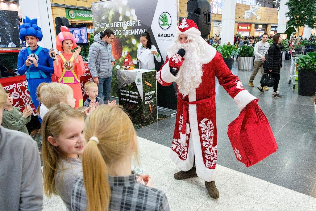 Дед Мороз в МЕГА Парнас в эту субботу