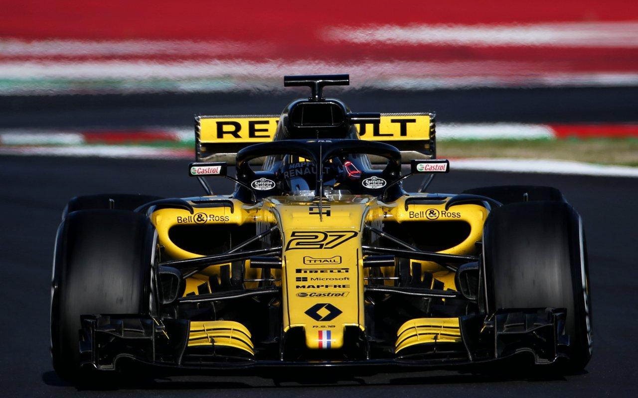 Команда Renault sport F1 team завершила сезон-2018