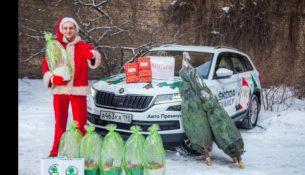 Чешский Санта Клаус навестил петербургские семьи