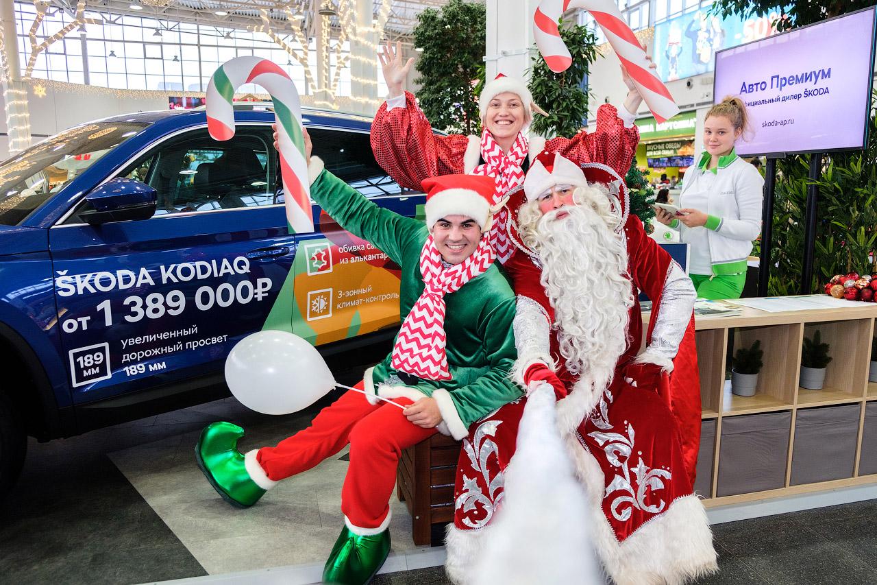 Дед Мороз уже в Санкт-Петербурге!