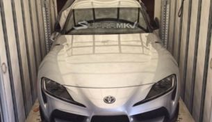 Рассекречена внешность новой Toyota Supra