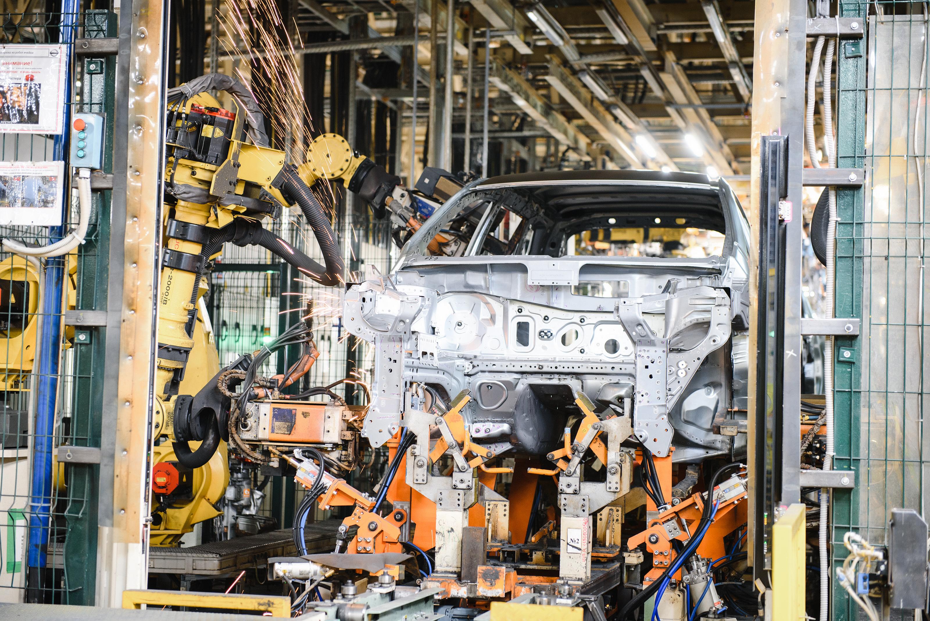 В Петербурге стартовало производство нового Nissan Qashqai