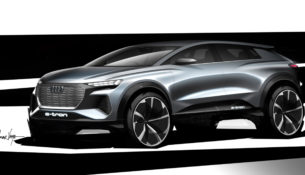 Audi готовит электрокроссовер Q4 e-tron