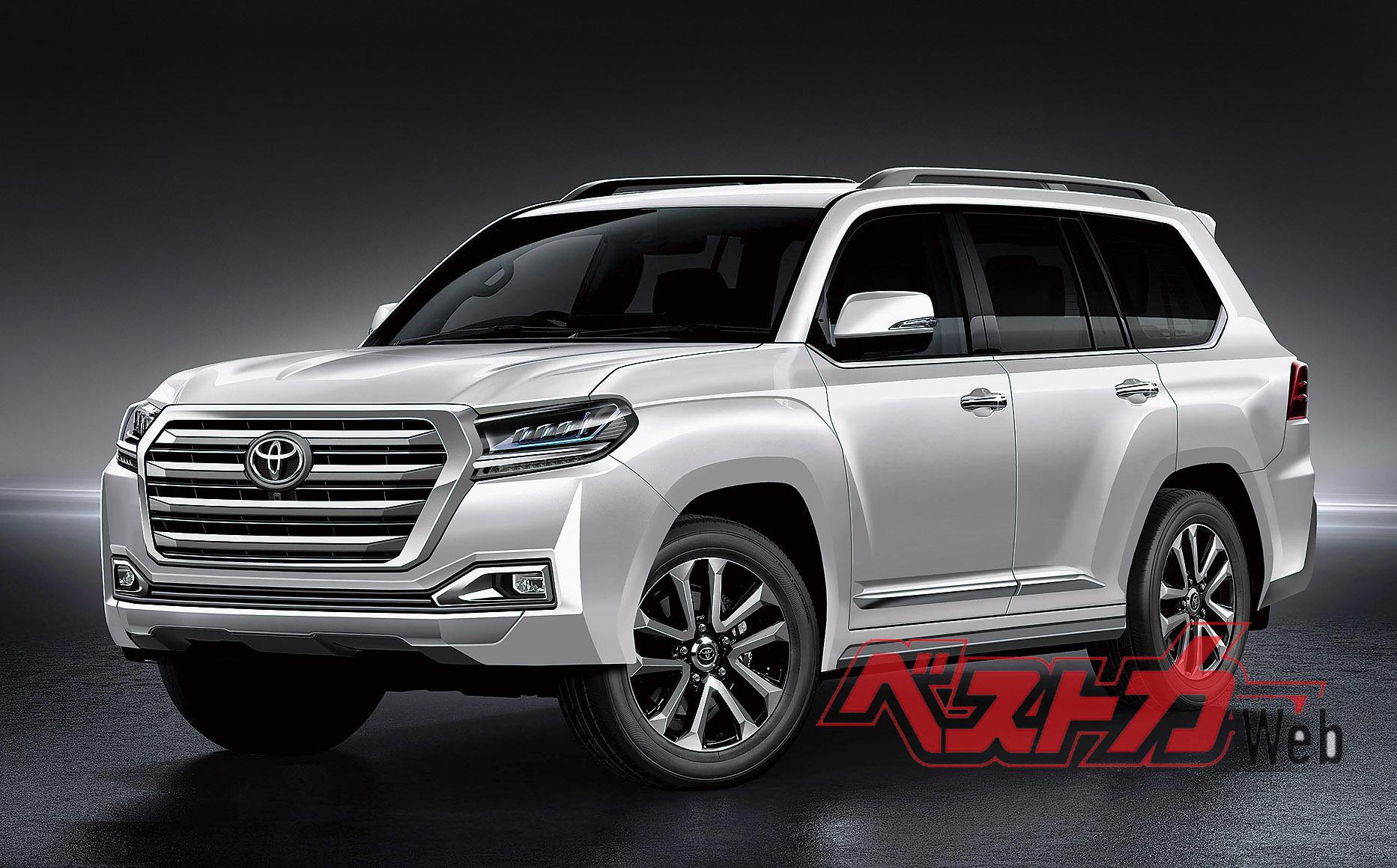 Toyota НЕ ведет работы над Land Cruiser 300