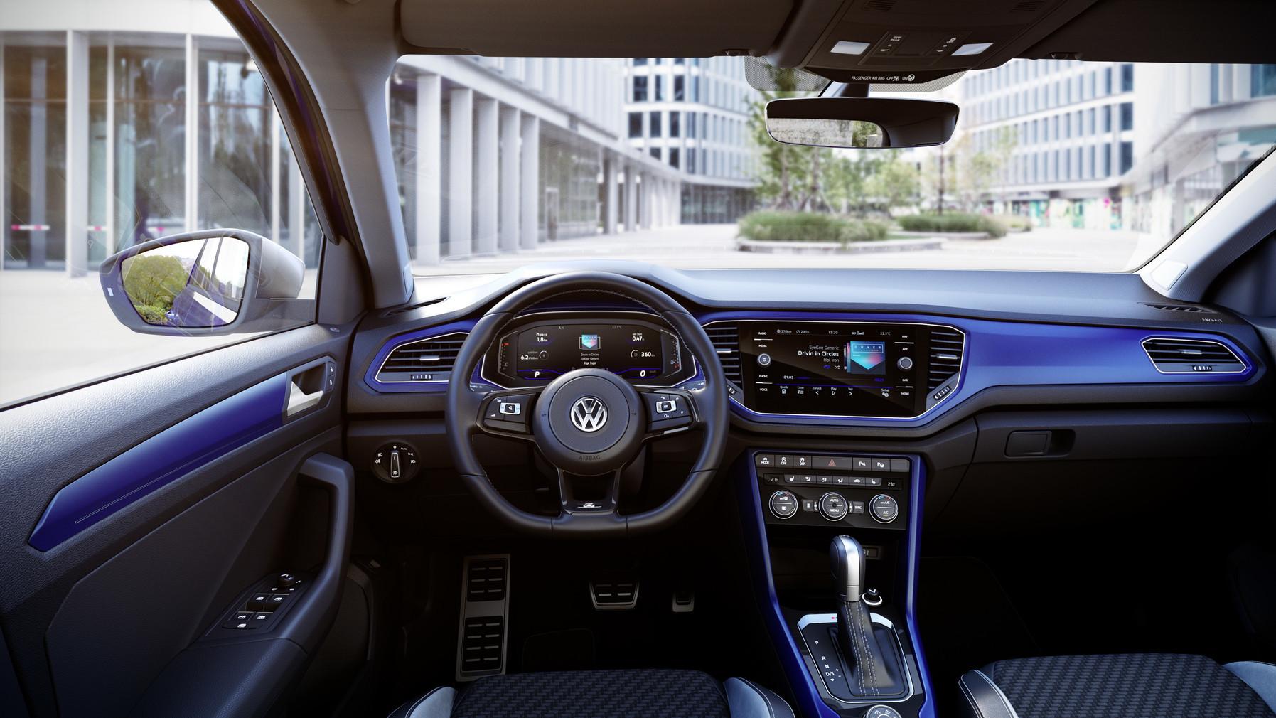 Volkswagen привезет в Женеву предсерийный T-Roc R