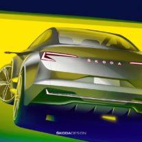 Skoda раскрыла дизайн нового кросс-купе