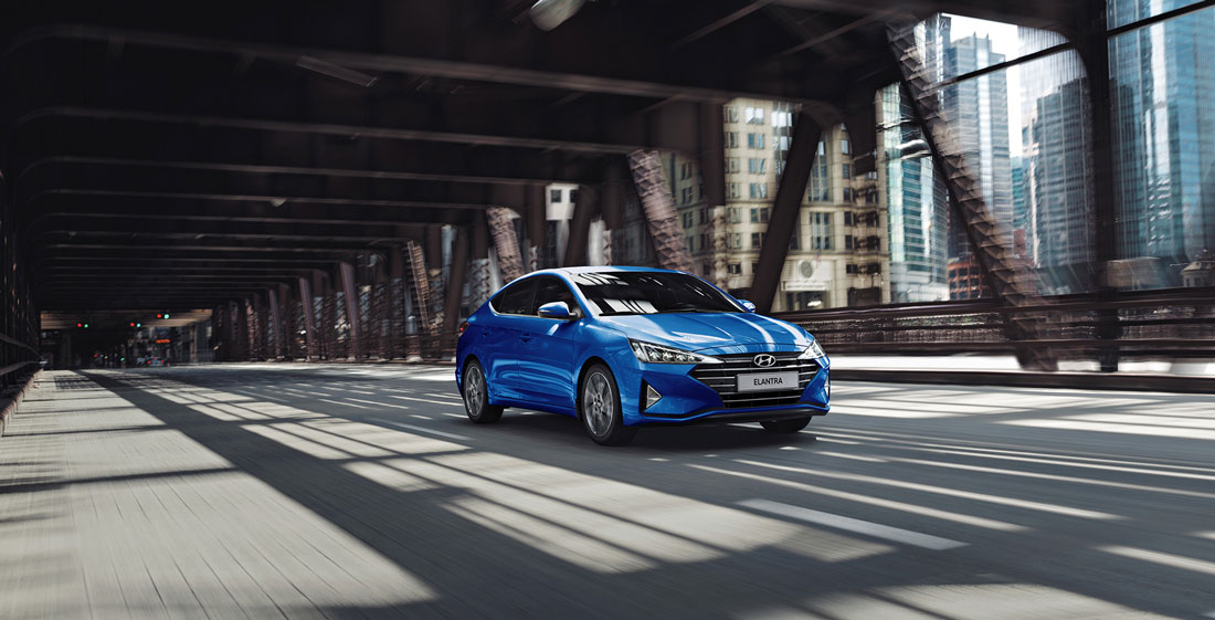 Автополе презентует обновленную Hyundai Elantra
