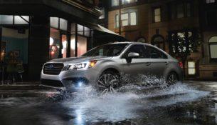 Subaru Legacy получил последнее обновление перед новой версией