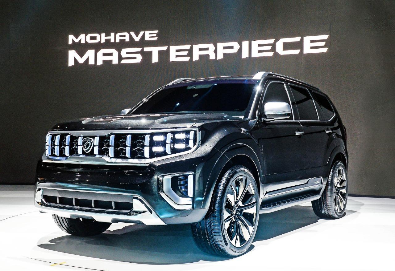 Kia готовит глубокую модернизацию Mohave