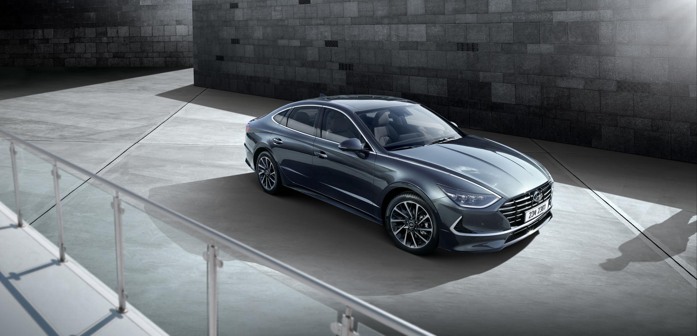 Hyundai показал новую дерзкую Sonata