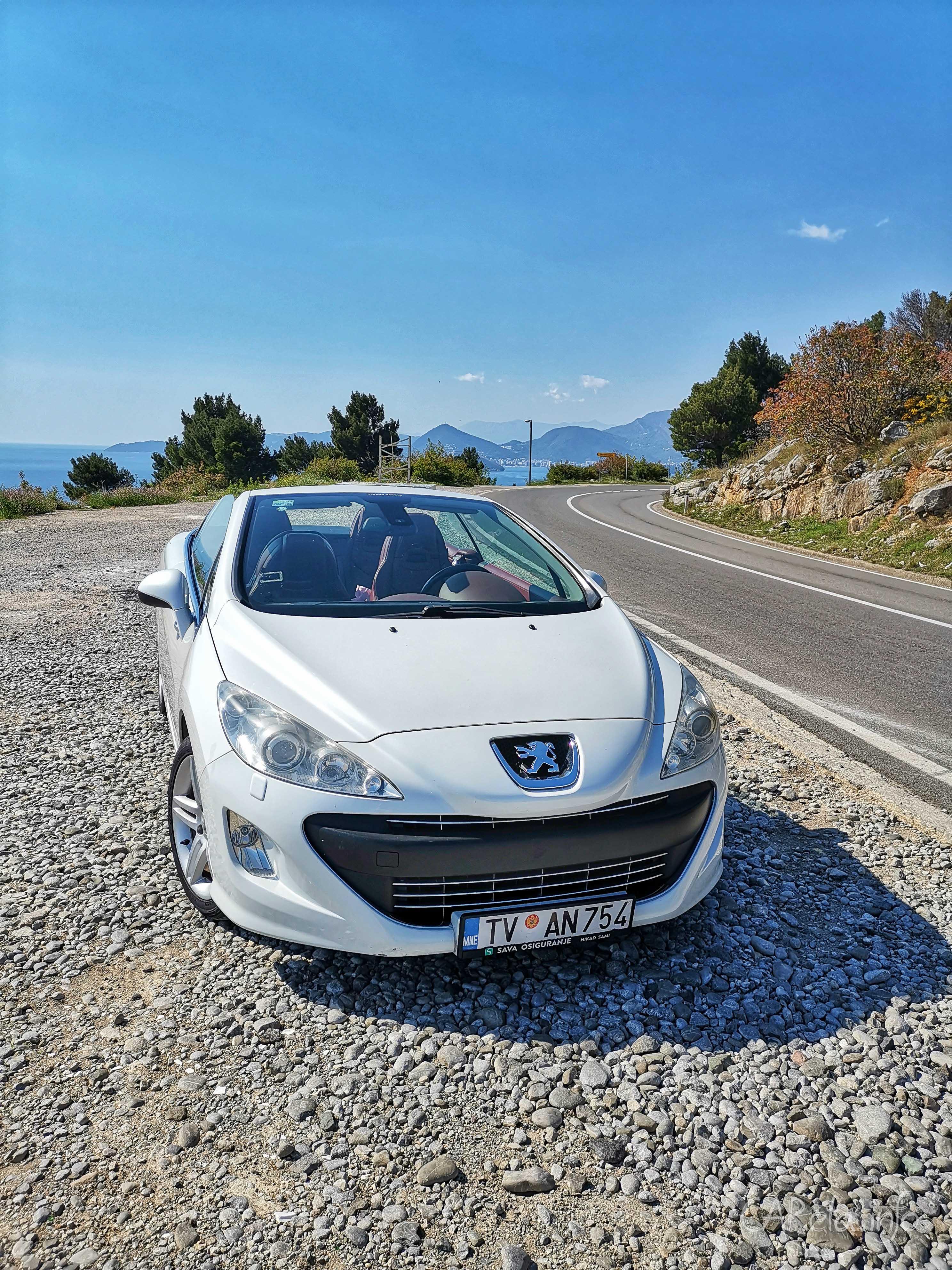 Все ради солнечных кадров: тест-драйв Peugeot 308cc