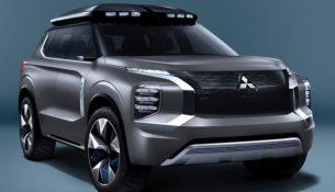 Mitsubishi покажет в Шанхае концепт-кроссовер e-Yi