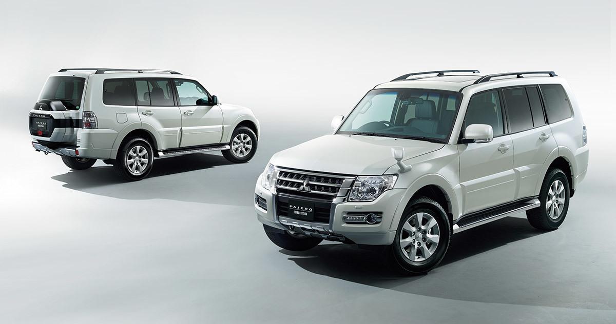 Mitsubishi прекратит выпуск Pajero