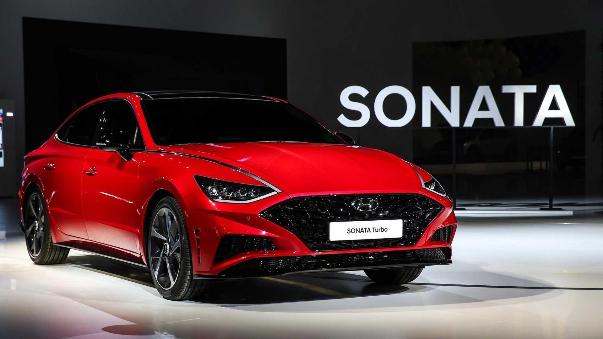 Hyundai Sonata получила турбо- и гибридную версии
