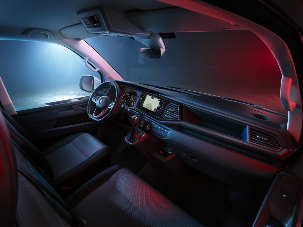 VW обновил Transporter