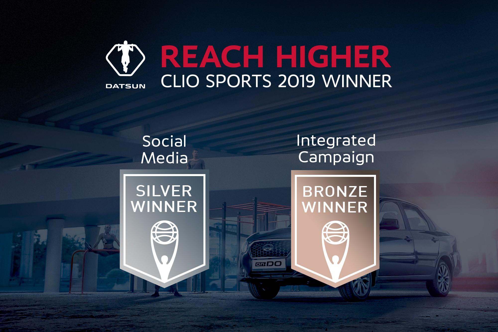 Datsun вошел в число победителей рекламной премии Clio Sports Awards
