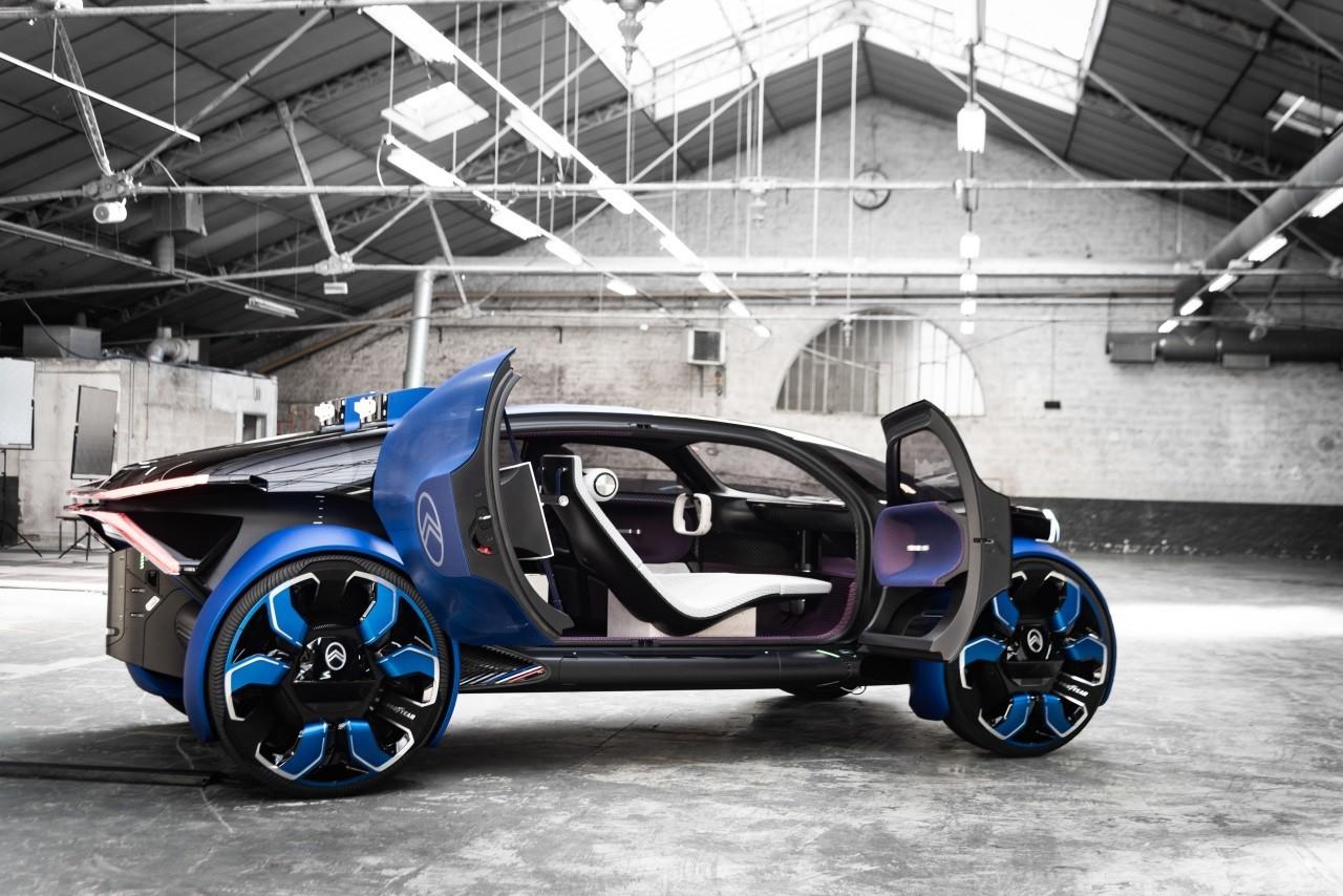 Citroen показал концепт автомобиля для путешествий
