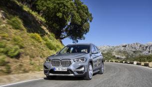 BMW X1 получил рестайлинговую версию