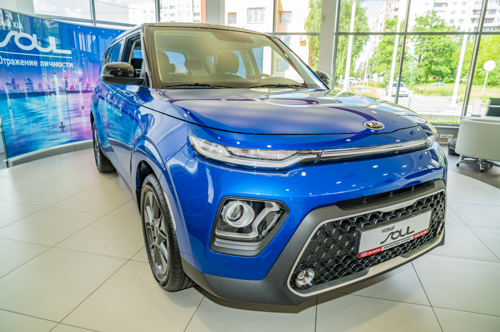 Новый Kia Soul уже в автосалонах Петербурга