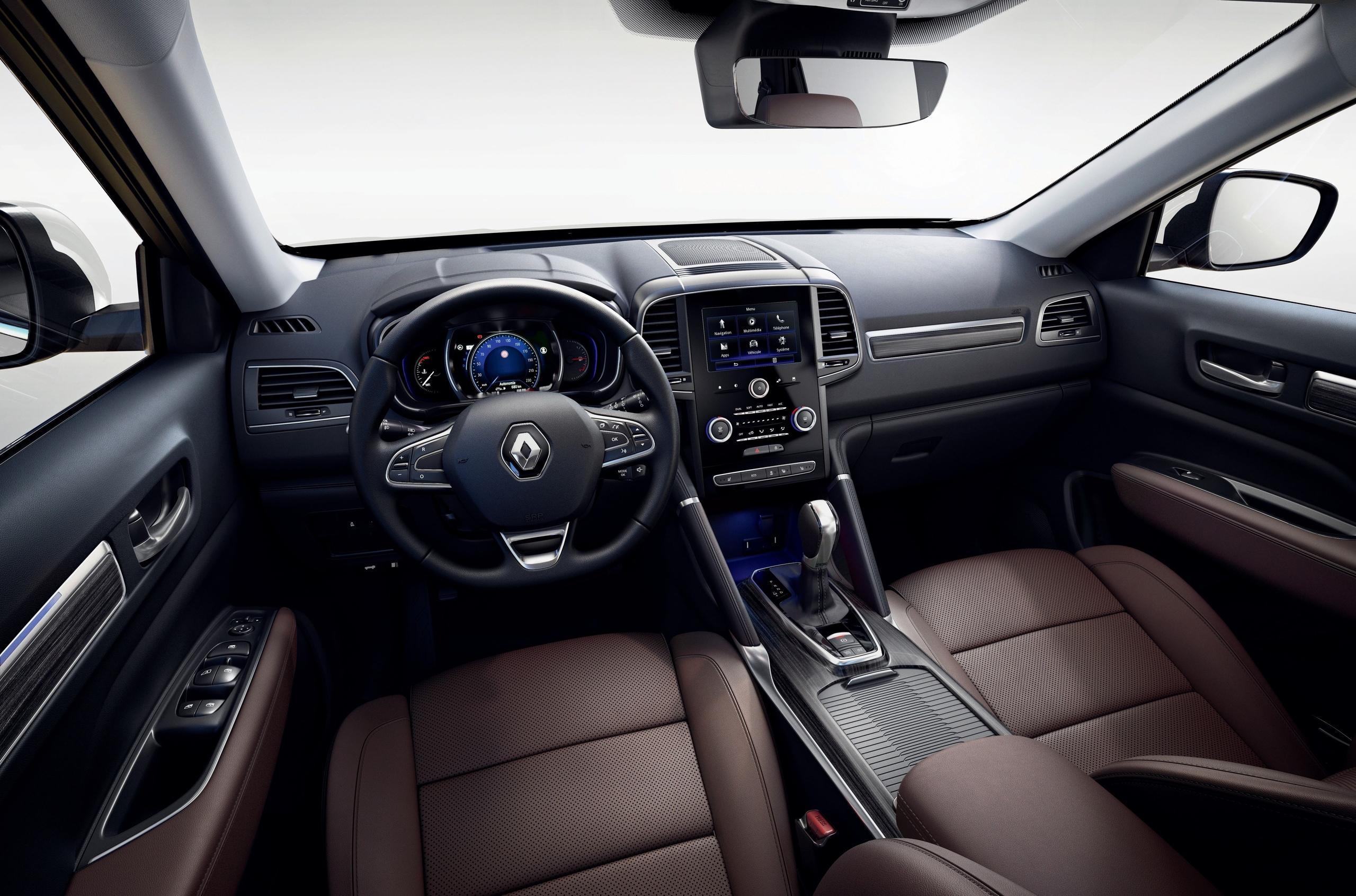Renault представила обновленный Koleos