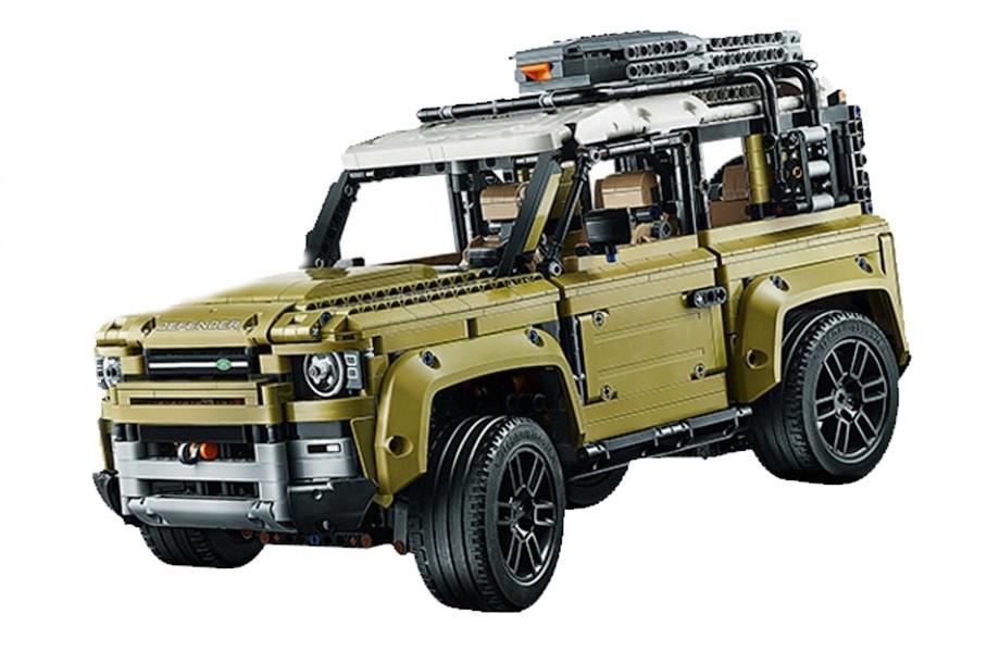 Внешность нового Defender раскрыла модель из Lego