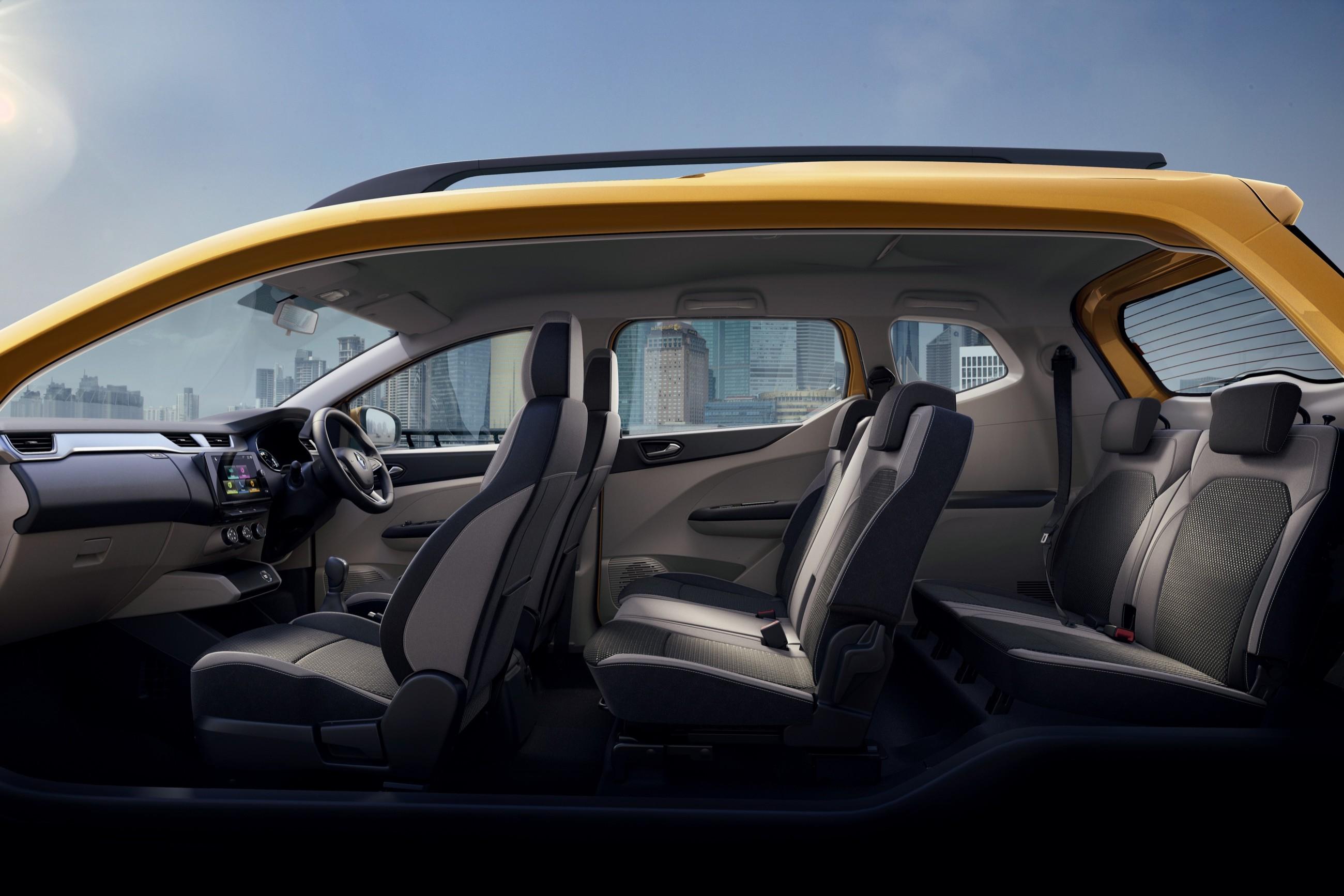 Renault представила Triber - семиместный компакт-кроссовер