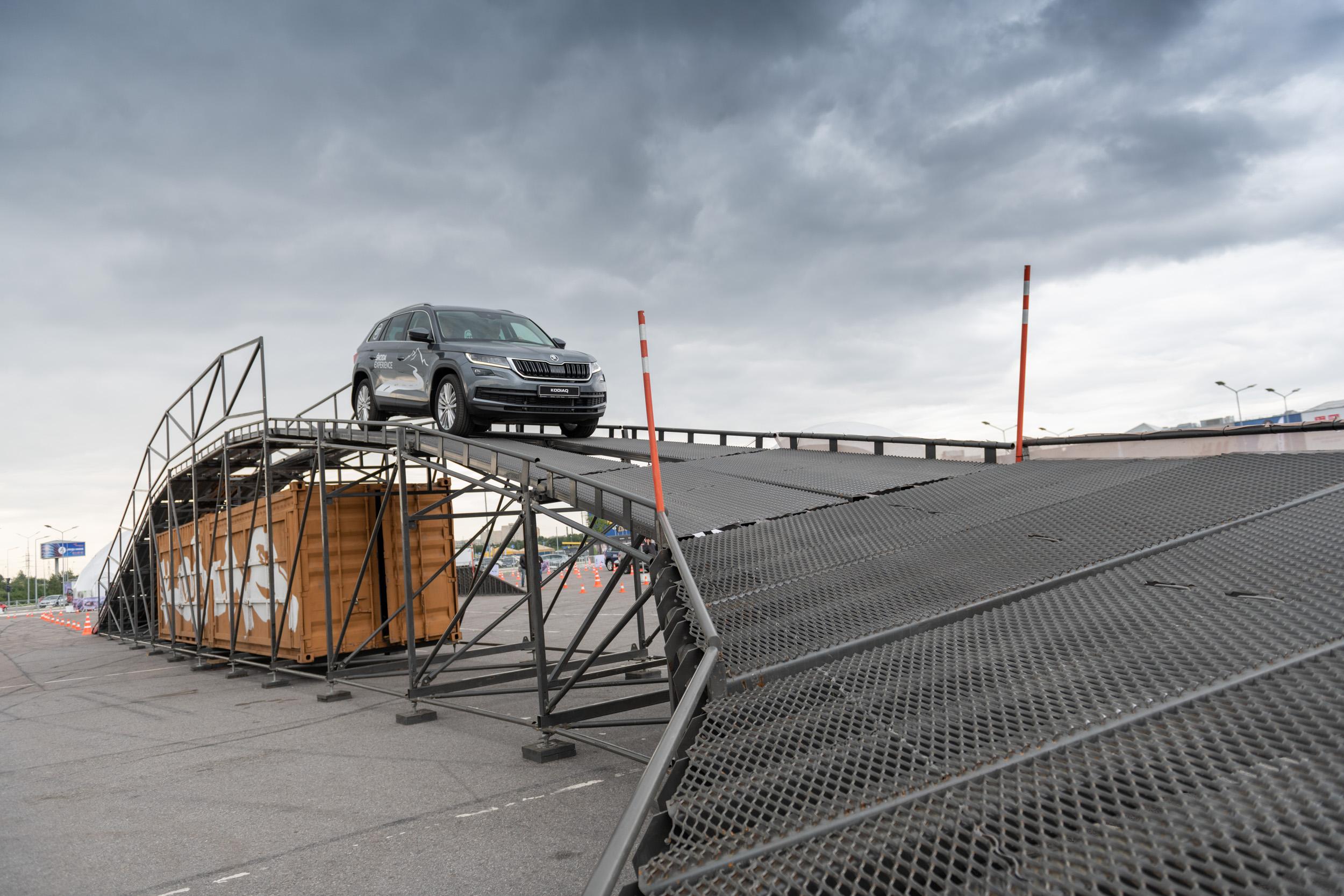В Санкт-Петербурге прошла серия тест-драйвов Skoda Experience