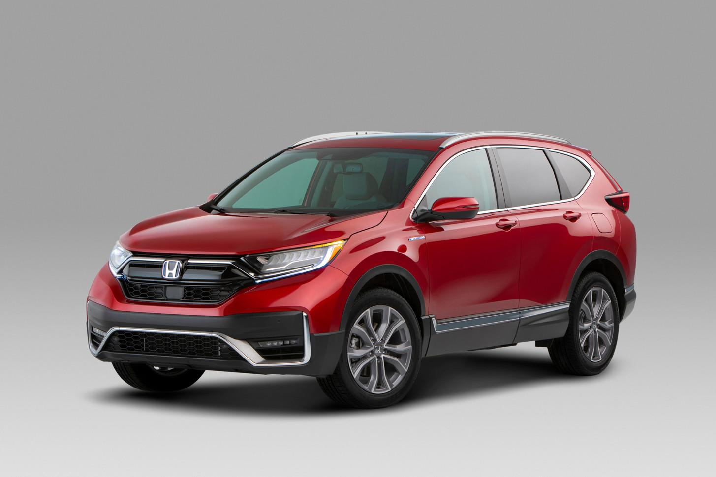 Honda показала обновление CR-V для Америки