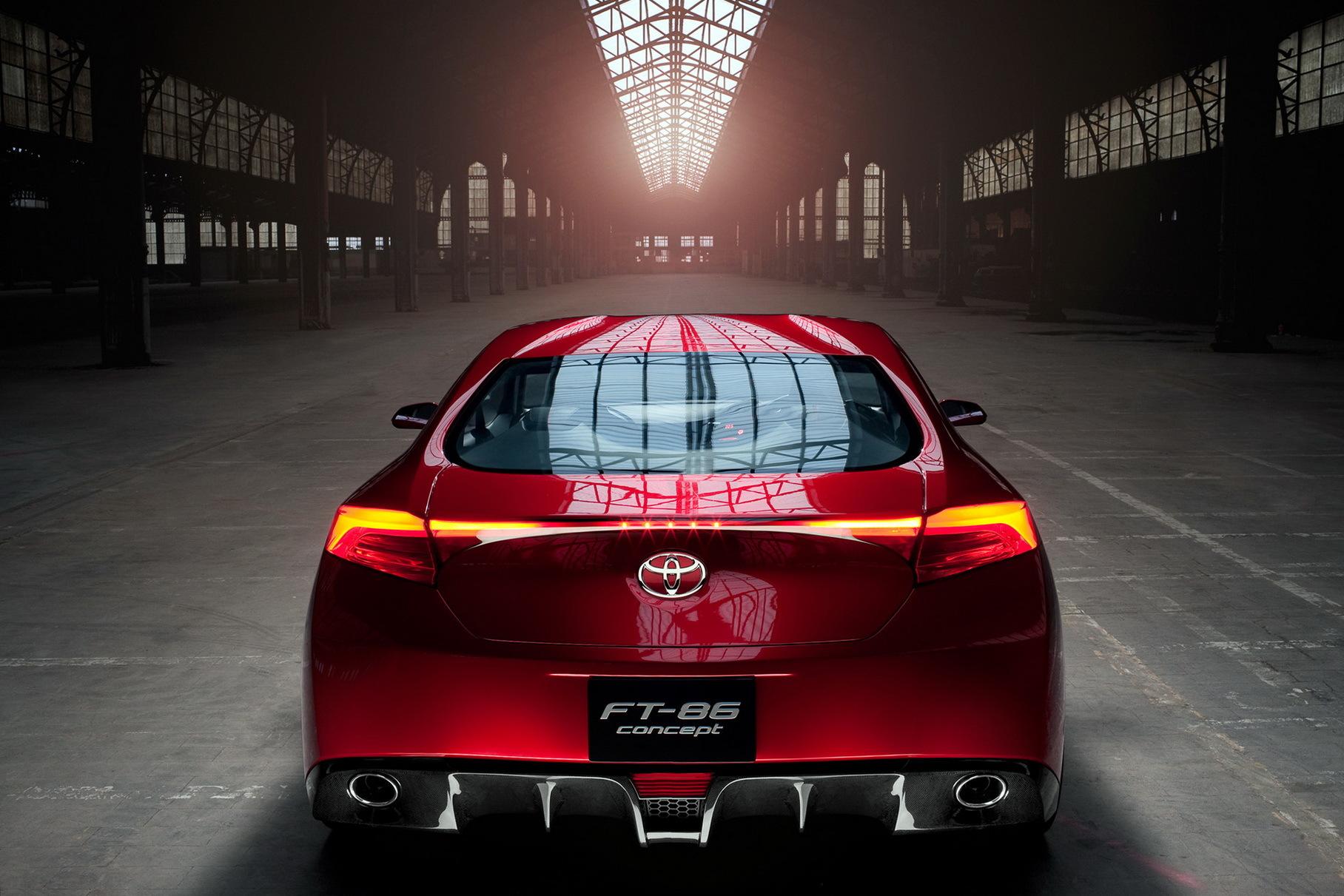 Toyota готовит новый GT86