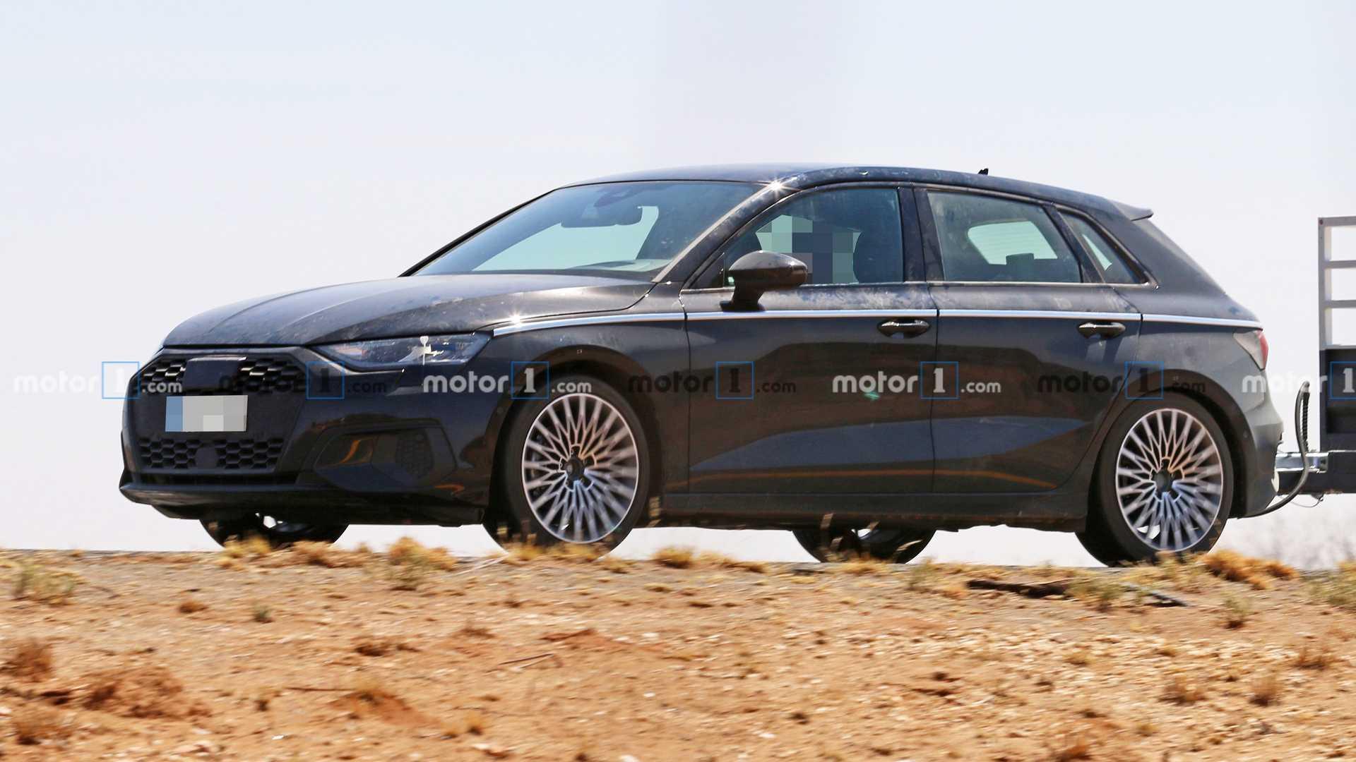 Внешность Audi A3 раскрыли до премьеры