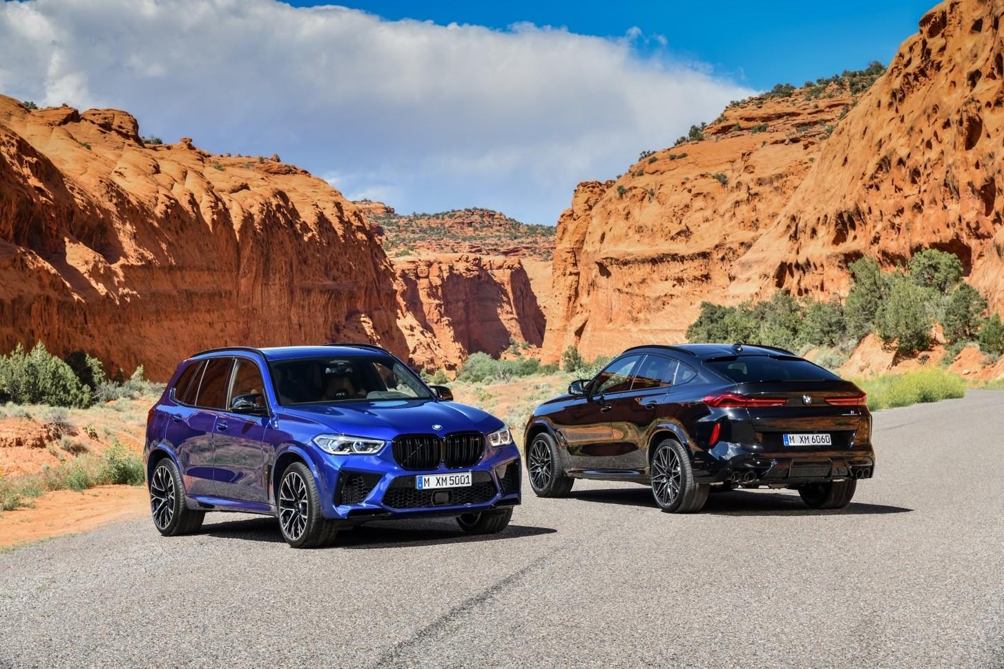 BMW показала спортивные версии X5 и X6