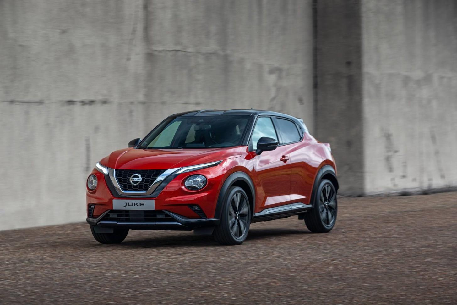 Nissan запатентовал в России новый Juke