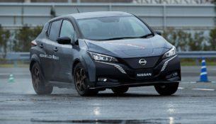 Nissan сделал Leaf полноприводным